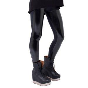 Black milk Slicks liquid PVC Leggings